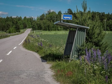 West Finland Bus stop