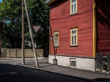 Kalamaja red houses but not in brick