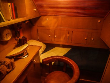 Submarine captain's room