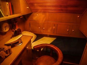 Submarine captain's room