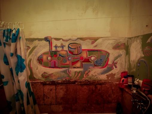 Tanya's work in the bath room