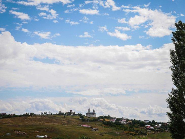 Romania skyline
