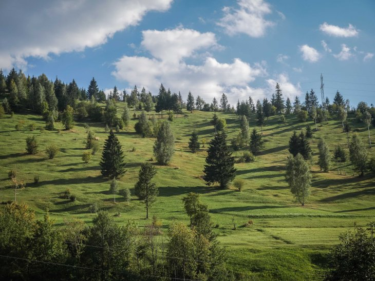 Romania Hills