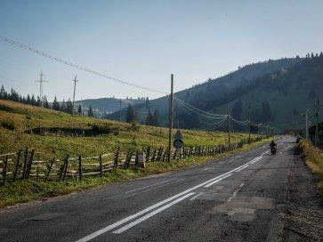 Evening ride (Romania)