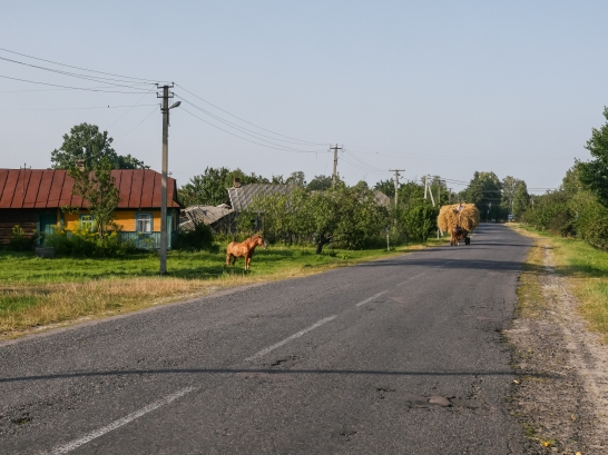 Ukraine countryside