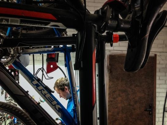 Cyclist, bike mechanic and social entrepreneur