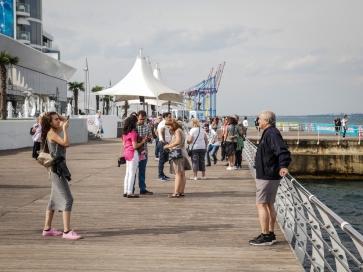 Odessa promenade