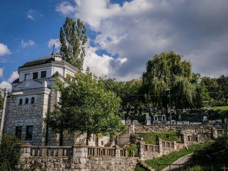 Sarajevo jewish graveyard