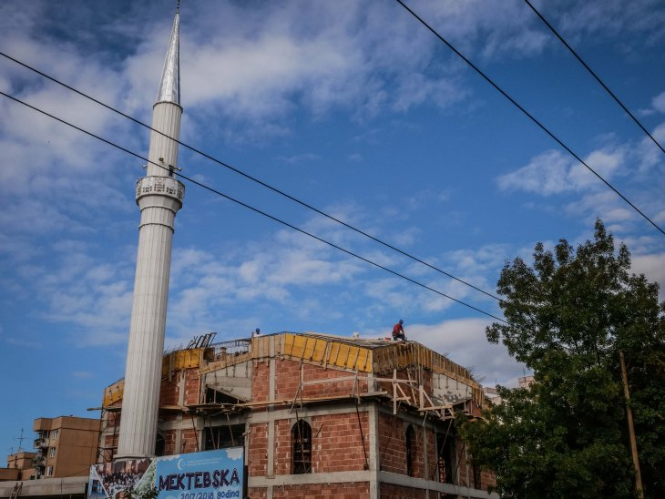 Mosque renovation
