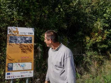 Ciro cycling route: an EU funded project with local advices