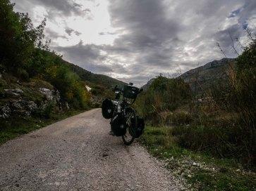 Ciro cycling route