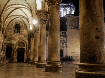 Perfect gothic in Dubrovnik
