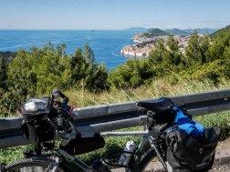 Leaving Dubrovnik