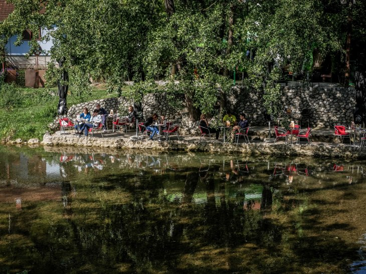Valjevo by water