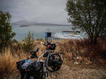 Rainy Greece