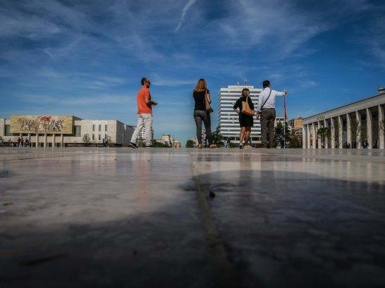 Tirana Skanderbeg Square