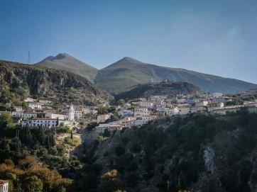 Southern Albania village