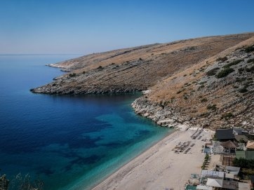 Southern Albania sea