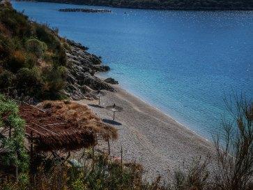 Southern Albania beach