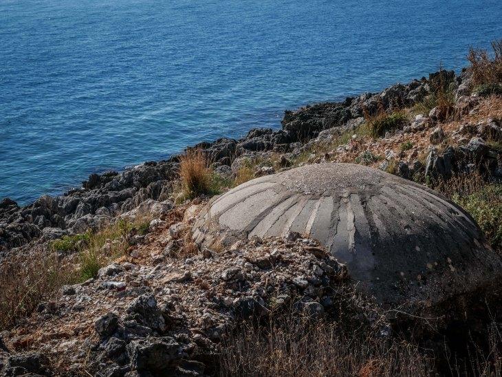 Beach bunker