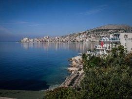 Southern Albania town of Saranda