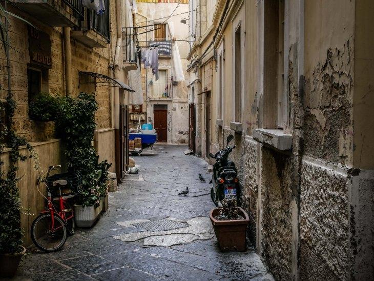 Old town Bari