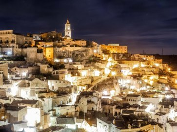 Late night Matera