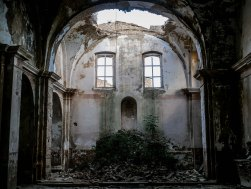 Abandoned church in Craco