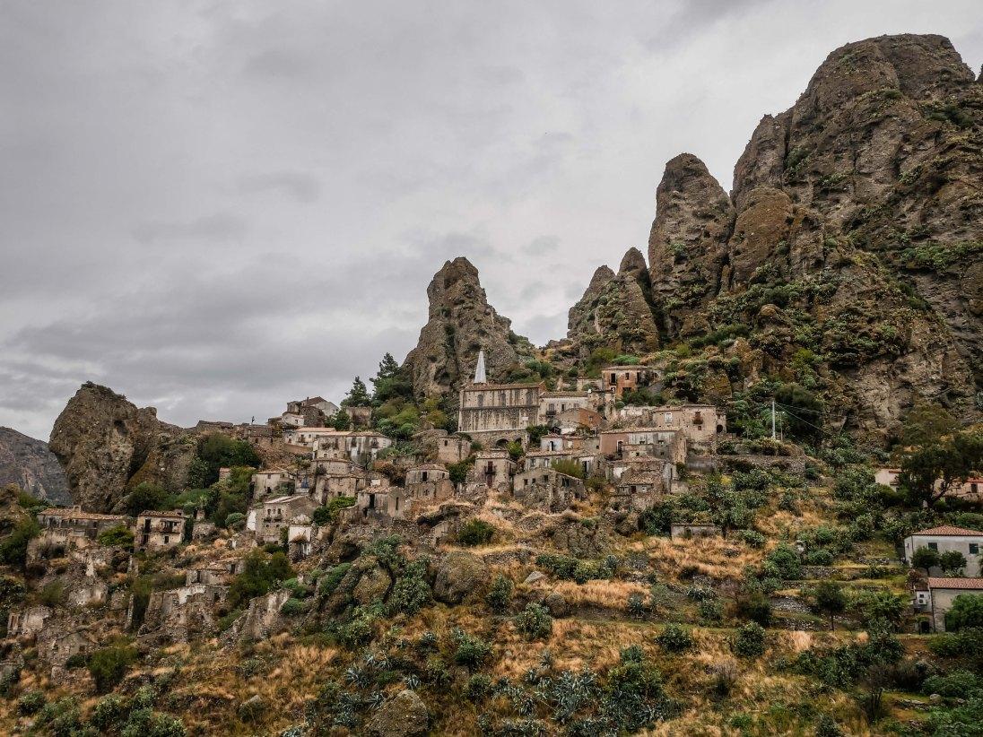 Abandoned village of Pentedattilo