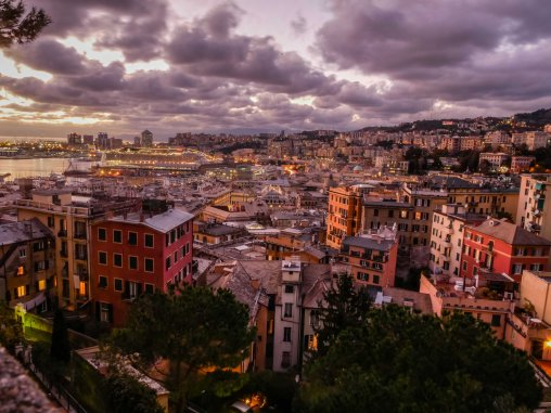 A world city. Genoa has the highest number of mixed marriages in Italy.