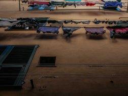 A dry city. Enjoy Mediterranean climate.