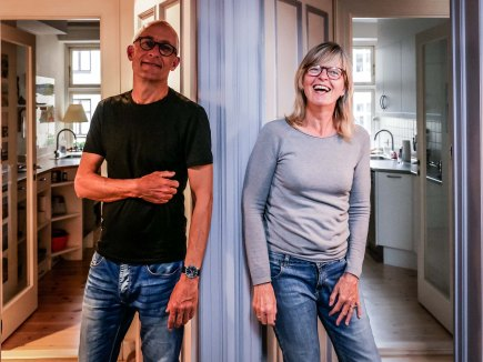 Jan and Hanne, neighbours and lovers (Copenhagen - Denmark)