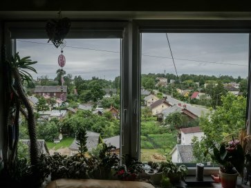 View from Vita's place (Rezekne - Latvia)
