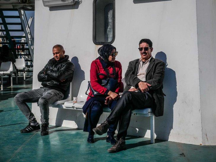Sailing to Kerkennah islands