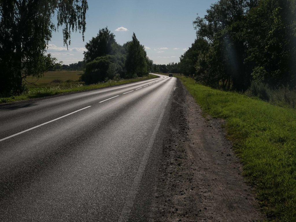 Latvia-road
