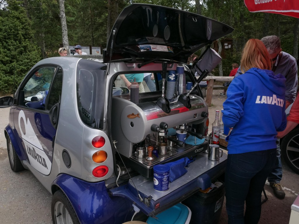 Lithuania-Nida-Smart-car-coffee